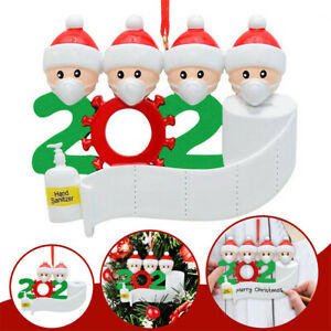 2020 Xmas Christmas Party Decoration Gift Santa Claus W Mask Hanging Ornament