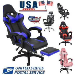 Gaming Chair Ergonomic Office Computer Recliner Desk Chair High Back Seat Swivel