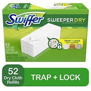 Swiffer Sweeper Dry Mop Refills for Floor Mopping and Cleaning All Purpose Floo