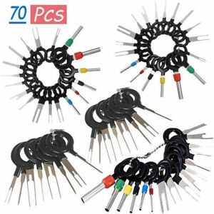 70PCS Set Pin Ejector Wire Kit Extractor Auto Terminal Removal Connector Tool US $10.98