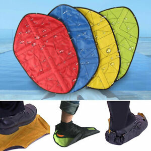 Reusable Step In Sock Hands Free Shoe Covers Shoe Boot Durable Portable Cover US