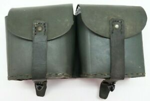WWII Italian M1891 M38 Carcano Rifle Leather Ammo Pouch each E9474 $29.99