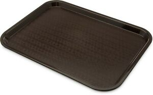 Café Standard Cafeteria Fast Food Tray 12quot; x 16quot; Chocolate