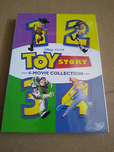 Toy Story DVD 1234 1 4 All Four Movies Complete Collection Disney Brand New