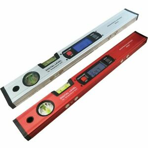 Digital Protractor Angle Slope Inclinometer Electronic Level Ruler 360 Degree $51.14