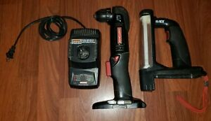 Craftsman 19.2v Cordless RIGHT ANGLE DRILL DRIVER w WORKLIGHT Battery Charger $59.95