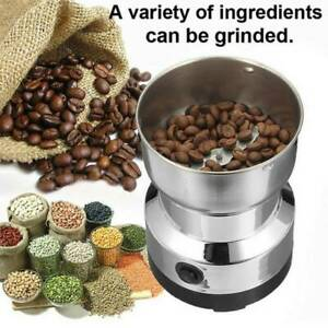 Electric Coffee Grinder Bean Spice Mill Blender Stainless Steel Smash Machine US $20.89
