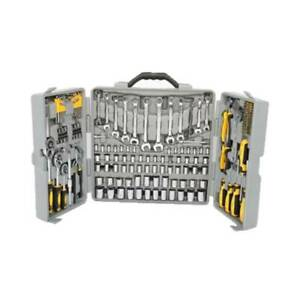 New Portable 205 PCS Tool Set Mechanics Tool Kit Wrenches Socket w Carry Case