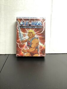 He Man and The Masters of Universe Complete Original Series DVD SEALED $35.00