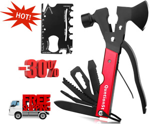 Multitool Camping Gear Kits 16 in 1 Survival Gear With 18 in 1 Multi Tool