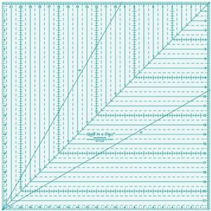 Quilt In A Day 22x22 Square Up Ruler $85.53