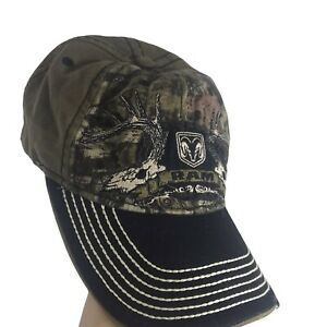 Ram Dodge Cap Camouflage For Outdoors Strapback Hat