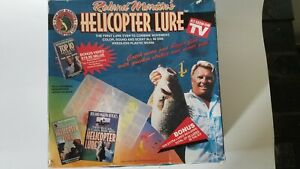 Roland Martin Helicopter Lure Set VHS Instructional Video Included Open Box