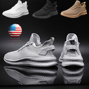 Running Casual Shoes Mens Outdoor Athletic Jogging Sports Tennis Sneakers Gym $21.99