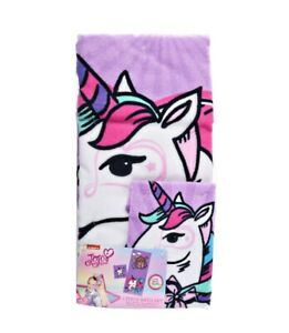 JoJo Siwa 2 Piece Bath Towel amp; Washcloth Set by Nickelodeon NEW with Tags $27.87