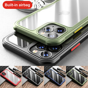 For iPhone 12 Pro Max 11 12Mini XS XR 8 7 SE2 Shockproof Bumper Clear Case Cover $8.98