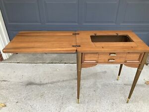 EMPTY Singer Sewing Cabinet Table 301 401A 403 404 411 412 500 503 328 348 MCM $179.95
