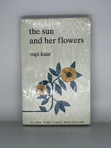 NEW The Sun and Her Flowers Paperback Book By Rupi Kaur Plastic Sealed $8.49