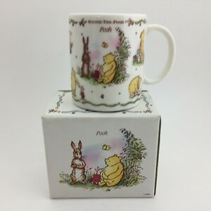 Classic Winnie The Pooh Made In Japan Coffee Cup Mug Disney Collections Rare $29.99