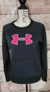 Womens Black amp; Pink UNDER ARMOUR pullover sweatshirt $11.00