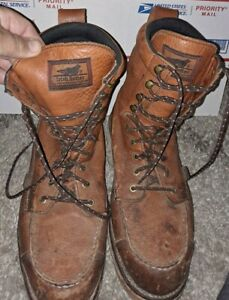 Irish Setter Redwing Boots Sz 14 894 Wingshooter 9in. Waterproof Construction