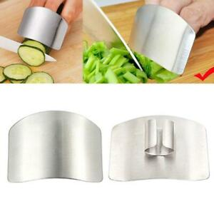 Finger Guard Stainless Steel Finger Protector Slicing Dicing Safe Kitchen Tool $4.99