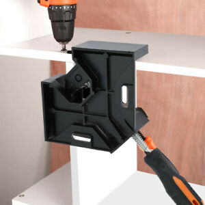 90°Right Angle Clip Clamp Tool Woodworking Photo Frame Vise Welding Clamp Holder $22.07