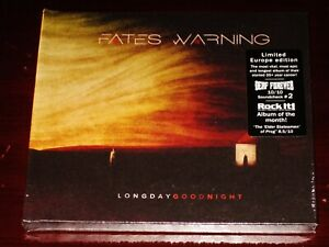 Fates Warning: Long Day Good Night Limited Edition CD 2020 MB EU Digibook NEW $17.95
