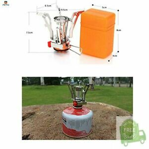 AOTU Portable Camping Stoves Backpacking Stove with Piezo Ignition ,Stable S