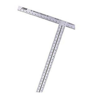 Carpenter Square Drywall T Square 22quot; x 48quot; Ruler Taping Measurement Hand Tool $22.11