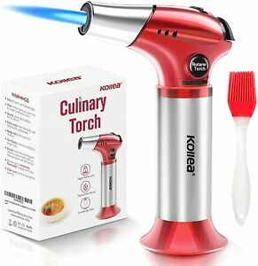 Butane Torch Kitchen Blow Torch Refillable Cooking Torch Lighter Mini Creme $23.78