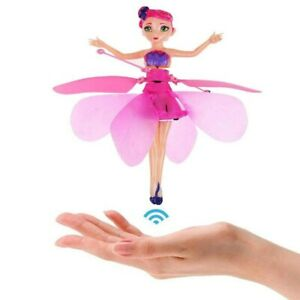 Flying Fairy Magic Doll Infrared Induction Control Dolls Xmas Gifts Princess Toy