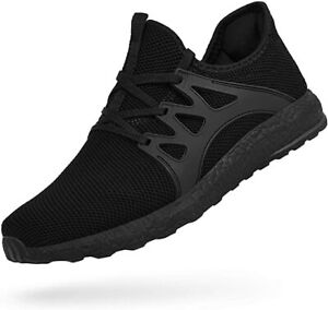 2 Pairs Black Mens Ultra Lightweight Breathable Walking Shoes $100.00