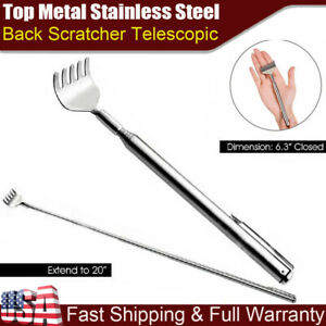 Metal Stainless Steel Back Scratcher Telescopic Extendable Claw Extender QW US $4.45
