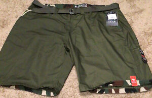 Blue Gear Mens Shorts Camo Size 44 New With Tags $18.00