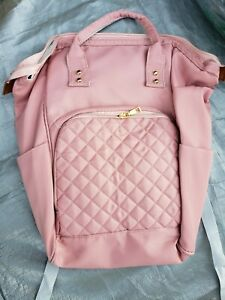 Pink backpack diaper bag $15.00