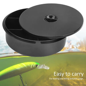 PP Fishing Storage Box Lures Baits ContainerCompartment Canoeing Kayak Accessor