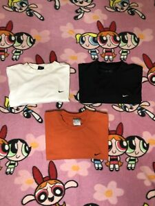 Three Nike Shirts With Small Check Size Adult XLarge XL $55.00