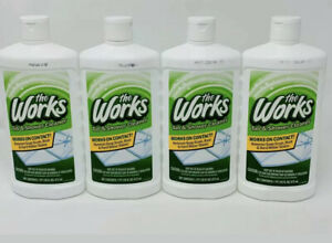The Works Tub amp; Shower Cleaner 16 FL OZ Each. New. Lot Of 4 $22.49