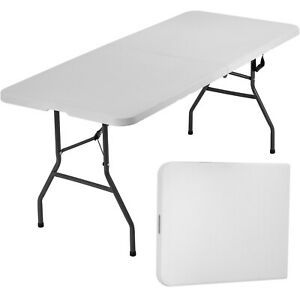Folding Table Camping Table Folding Table 6 Foot Plastic Table Fold Up Table $49.99