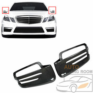 Real Carbon Fiber Mirror cover Replacement For Mercedes W207 W212 E Class 07 15 $108.29
