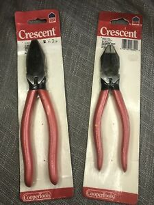 2 USA Made Vintage Crescent 1950 7CV And 50 8CV Heavy Duty Pliers. $39.99