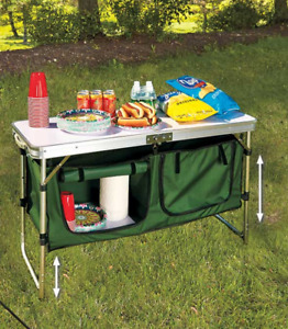 Portable Camping Kitchen Table Do Not Ship Puerto Rico