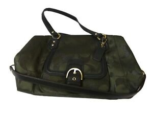 Authentic Signature Coach Purse Forest Green NWOT MSRP is $378.00