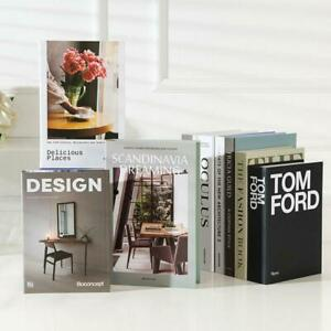 Best Designer Coffee Table Book Home Quality Decor Unreadable Cardboard Hardback