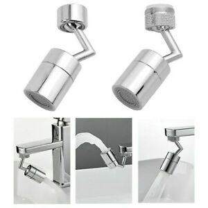 Universal Splash Filter Dual Spray Mode Faucet 720° Rotate Water Outlet Faucet $13.99