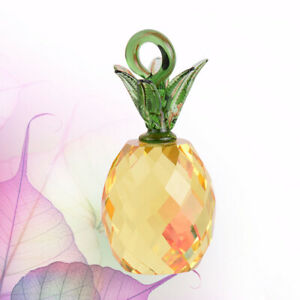 Novel Crystal Home Ornaments Pineapple Ornaments Crystal Decor for Office 1Pc $11.48