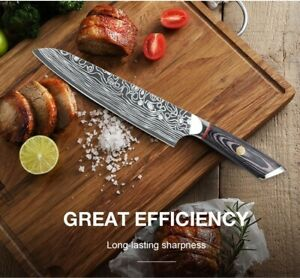 Sharp Professional Kitchen Chef Knife 8 inch High Carbon German Stainless Steel $27.90
