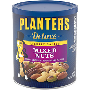 PLANTERS Deluxe Lightly Salted Mixed Nuts 15.25 oz. Resealable Container Nuts $9.34
