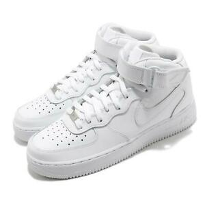Nike Air Force 1 Mid 07 Triple White Men Classic Casual Shoes Sneaker CW2289 111 $129.99